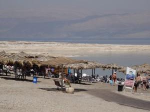 Dead Sea bathing!