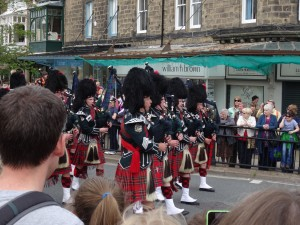 Pipe bands are always popular
