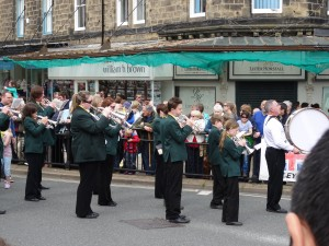 Brass Bands are very common in the North of England