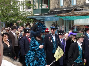 Ilkley residents in their finery