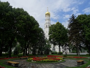 One of several churches inside the Kremlin