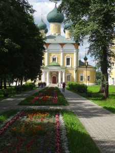 Entrance to Uglich Church