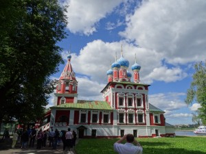 Cathedral in Uglich