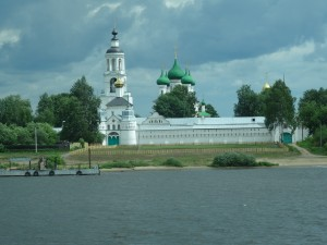 View from the River leaving Yaroslavl