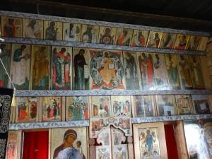 Iconostasis in Kizhi