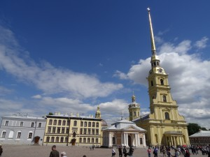 St Peter and Paul Cathedral; Burial Place of the Czars