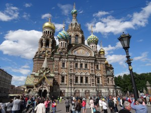 St Petersburg, Russia (The Church on the Spilled Blood)