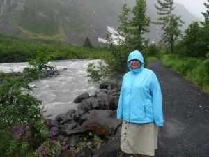 damp day in Alaska!