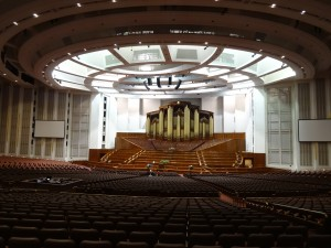The 21,000 seat LDS Conference Center