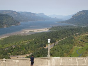 Columbia River from Vista Point
