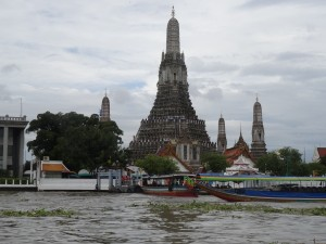 Wat Arun Hindu Temple from the river