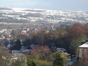 Winter in Ilkley